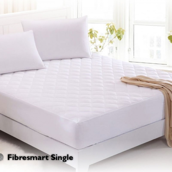 Fibresmart Mattress Protector Single Fitted