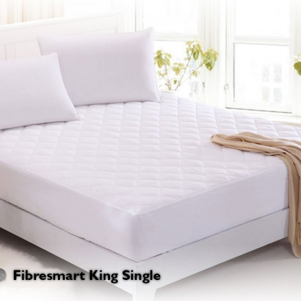 Fibresmart Mattress Protector King Single Fitted