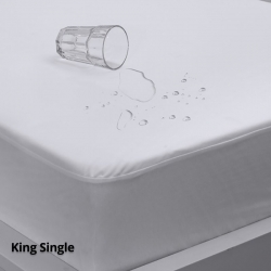 Waterproof Mattress Protector Eva Clean King Single Fitted