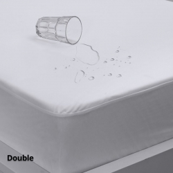 Waterproof Mattress Protector Eva Clean Double Fitted