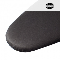 Compact Ironing Board Cover Metallic Black