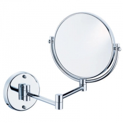 Wall-Mounted Dual Sided Mirror