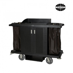 Compass Deluxe Hard Front Housekeeping Trolley