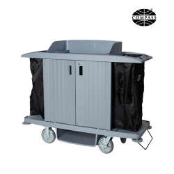 Compass Hard Front Housekeeping Trolley