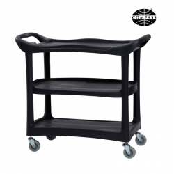 Compass 3 Shelf Utility Cart