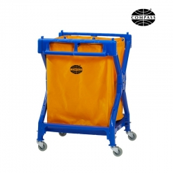 Compass Laundry Scissor Cart With Bag 195L