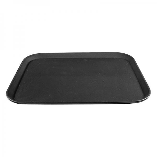 Black Plastic Non-slip Tray