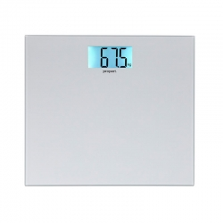 Bathroom Scales Digital Propert Silver Glass 3177