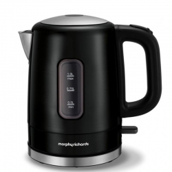 Morphy Richards Accents 1L Kettle Black