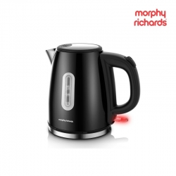 Morphy Richards Equip 1L Kettle Black Stainless Steel