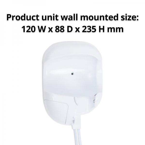 Nero Snug Wall Mountable Hair Dryer