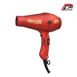Parlux 3200 Ceramic & Ionic Hair Dryer Red
