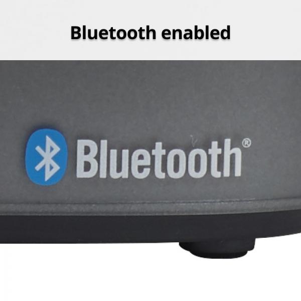 Nero Titanium Bluetooth Alarm Clock Radio