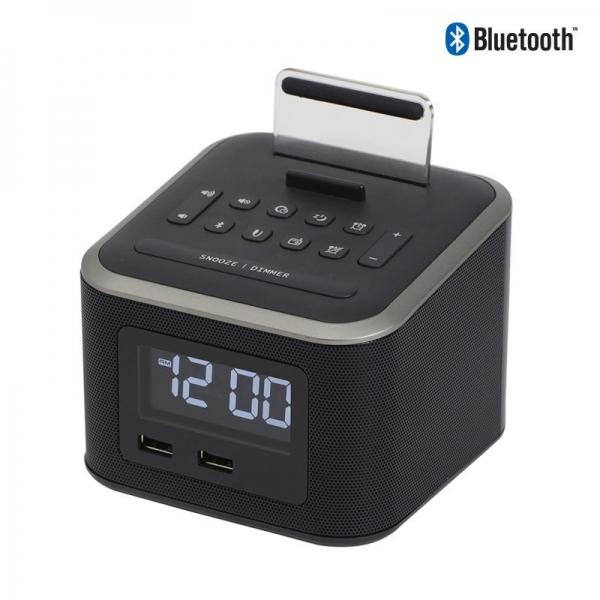 Nero Cube Bluetooth Alarm Clock Radio - Click for more info