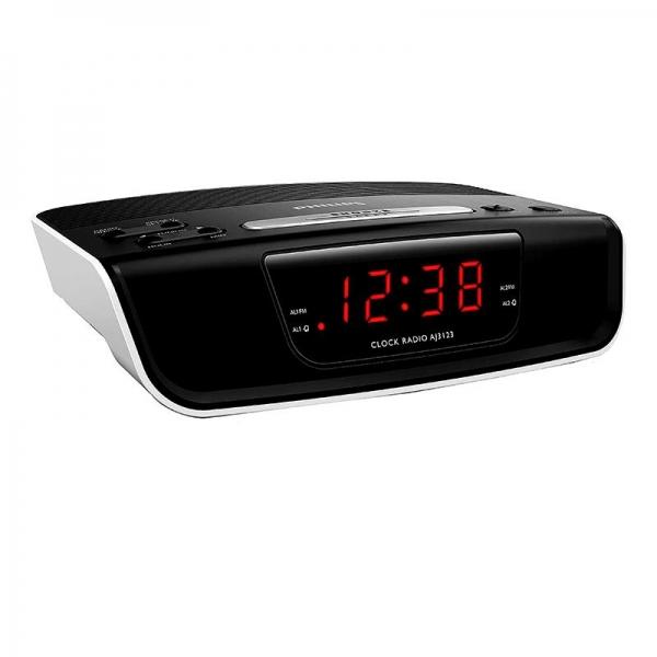 Philips Low Height Alarm Clock Radio