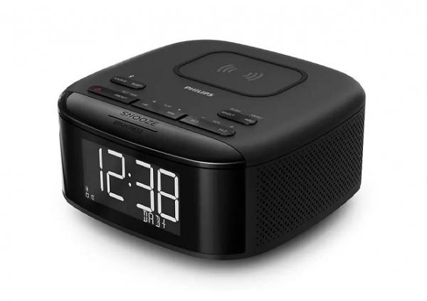 Philips Bluetooth Wireless Charge Clock Radio
