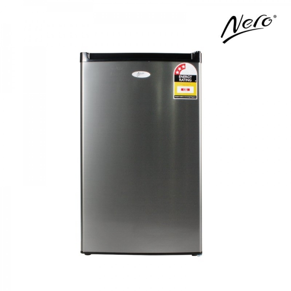 Nero 125L Stainless Steel Bar Fridge and Freezer