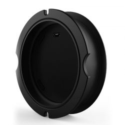 Fs80 Embedded Qi Wireless Charger Black