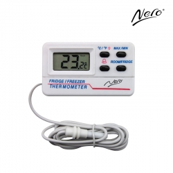 Digital Fridge/Freezer/Room Thermometer With Alarm - Click for more info