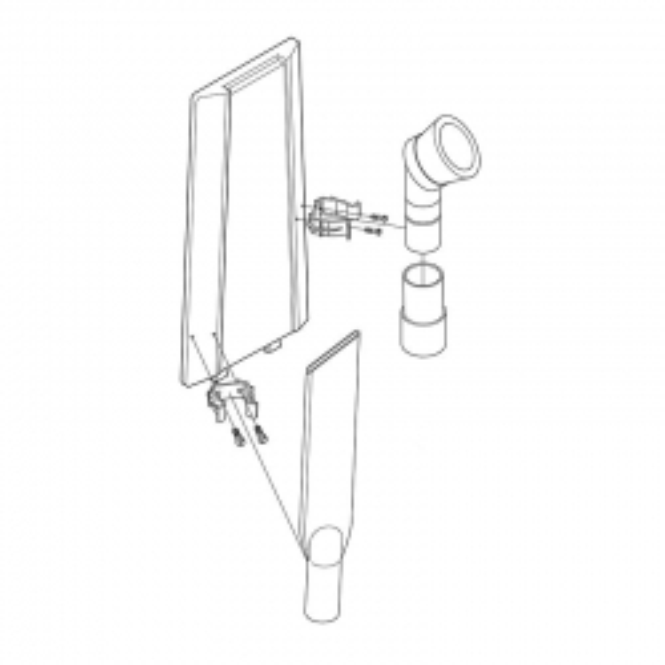 Nilfisk Large Area Vacuum Tool Kit