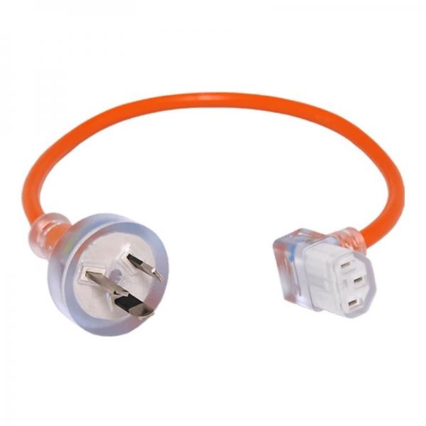 Pacvac Short Lead - 420mm 3 Core Plug