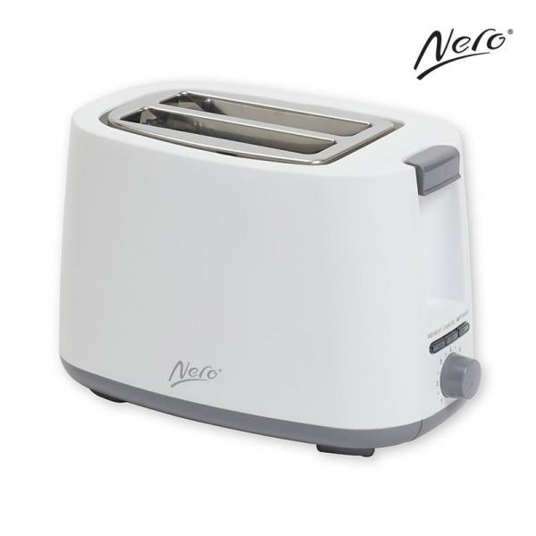 Nero White Toaster 2 Slice