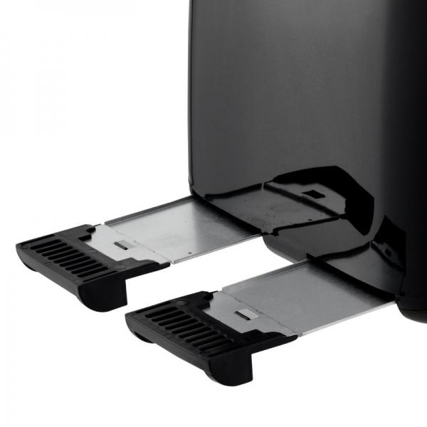 Nero Black Toaster 4 Slice