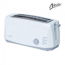 Nero 4 Slice Toaster White