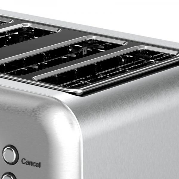 Nero Classic Style Toaster 4 Slice