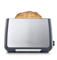 Sunbeam Long 2 Slice Toaster Brushed Stainless Steel