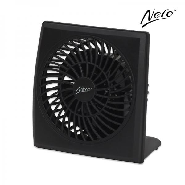 Nero Compact 10cm Desk Fan