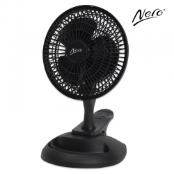Nero 15cm Clip-on Desk Fan with Storage Tray - Click for more info