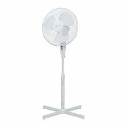 Nero 40cm Pedestal Fan White