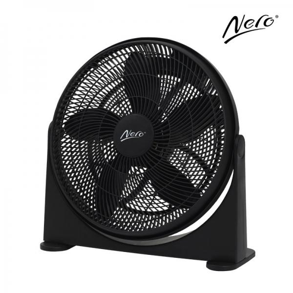 Nero 50cm Floor Fan Black