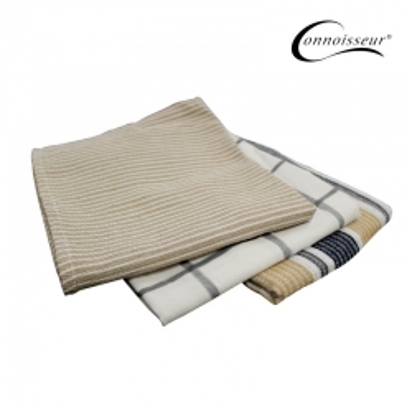 Pack of 3 Tea Towels 70gm