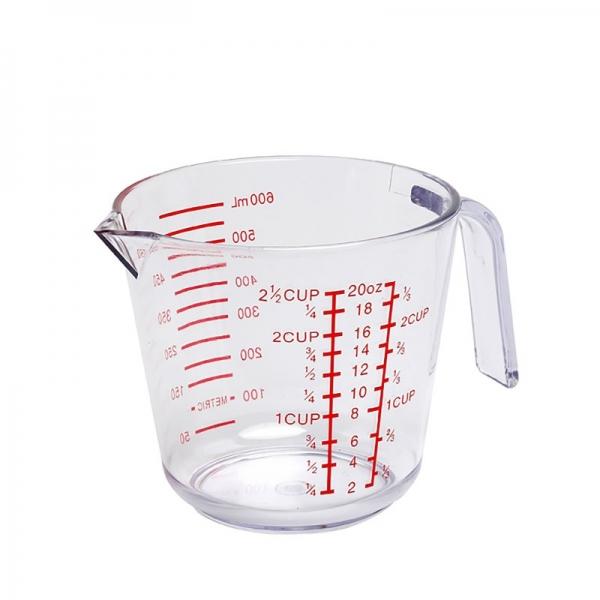 Acrylic Measuring Jug 2.5 Cups