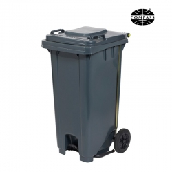 120L Wheelie Bin with Pedal