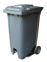 240L Wheelie Bin with Pedal - Click for more info