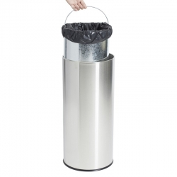 45L Stainless Steel Tidy Bin