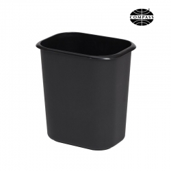 14L Rectangular Bin Black