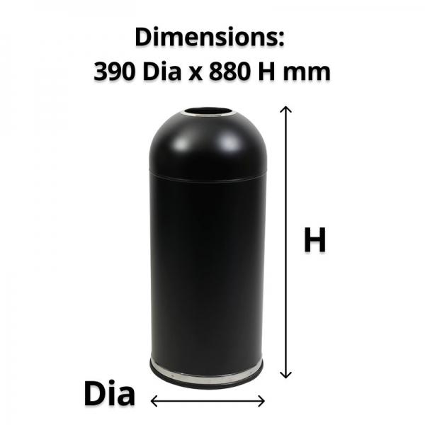 Black Bullet Bin 57L