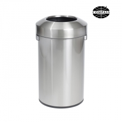 60L Stainless Steel Urban Open Top Bin