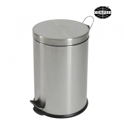20L Round Stainless Steel Pedal Bin