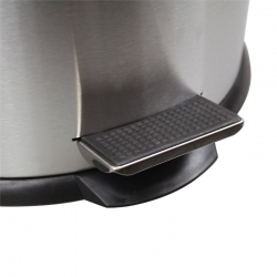 Round Stainless Steel Pedal Bin 30L